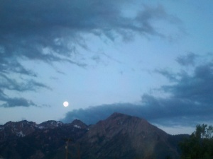 Moonrise Over the Wasatch